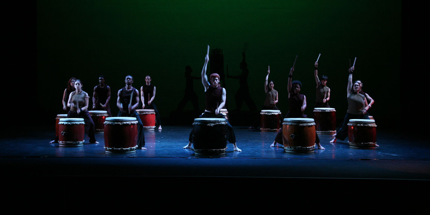 Taiko Drums. Photo by Eleftherios Kostans.
