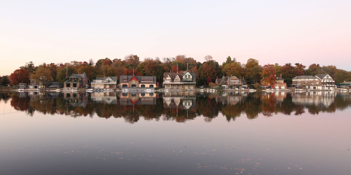 Boat House Row, Philadelphia. Photo by Eleftherios Kostans